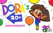 Happy 20th Anniversary, Dora!