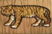 Hugo jungle island memory tiger