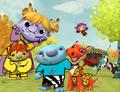 Junglelized Wallykazam characters