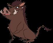 Mina as a Common Warthog