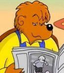 Papa Bear in The Berenstain Bears in the Dark (Living Books Version)