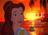 Belle (Moana) Poster
