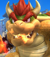 Bowser in Super Smash Bros. for Wii-U and 3DS