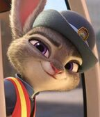 Judy Hopps as a meter maid
