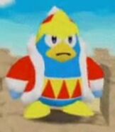 King Dedede in Kirby 64 - The Crystal Shards