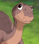 Littlefoot in The Land Before Time 8 The Big Freeze