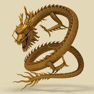 Model Chinese Dragon