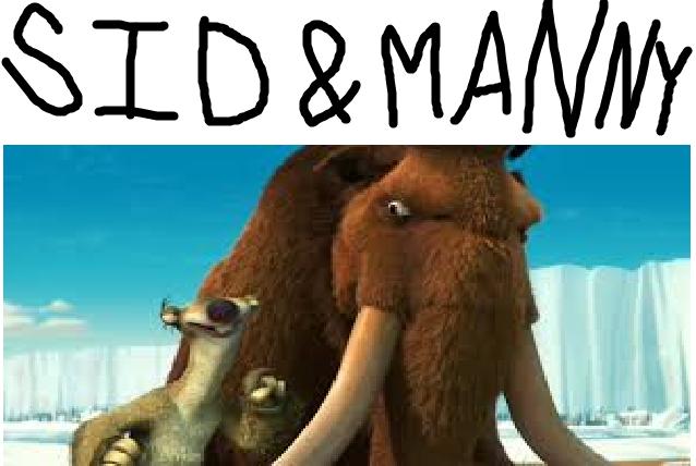 Sid and Manny (TheLastDisneyToon's Style)