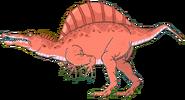 Spinosaurus Math vs Dinosaurs