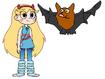 Star meets Little Brown Bat