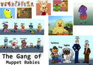The Gang of Muppet Babies