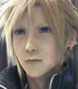 Cloud Strife in Final Fantasy VII- Advent Children