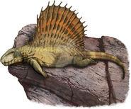Dimetrodon grandis by kana hebi-dax9ct6