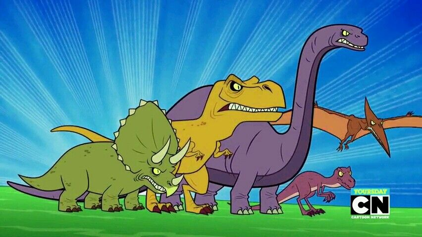 Dinosaurs (Teen Titans Go!: Island Adventure)