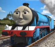 Gordon the big engine as Dr.Laker