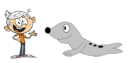 Lincoln Loud meets Leopard Seal