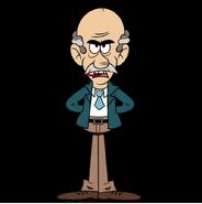 Principal Huggins as Red