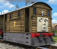 Toby the tram engine as Dr.Sea-zund