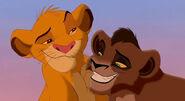 Young Simba and Young Kovu (The Lion King)
