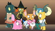 Carla said to Robotboy and Robotgirl that they going to make the best costumes