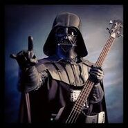 Darth Vader with a guitar.