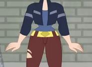 Dc super hero girls 2019 kara crop top and hips