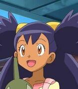 Iris in Pokemon Mewtwo Prologue to Awakening