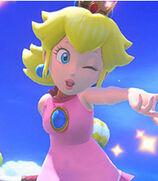 Peach in Mario Tennis- Ultra Smash