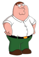 Peter Griffin as King Harold