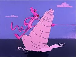 Pink panther crashes right into a buoy.jpg