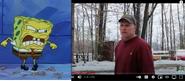 Spongebob vs Psycho Dad