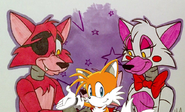 Tails and his parents