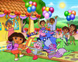The Cast of Dora The Explorer