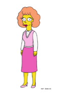 The Simpsons Maude Flanders