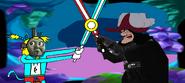 Thomas 1 - Boss Battles Part 07 - Thomas vs Captain Hook at The Cave of Skops - Thomas 1 (Redone).
