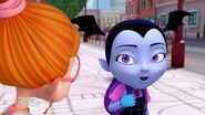 Vampirina and Bridget