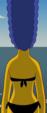 Back of Marge's bikini