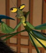 Mantis in Kung Fu Panda