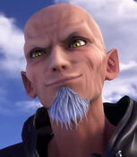 Master Xehanort in Kingdom Hearts- Melody of Memory