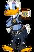 Daisy Duck as Judy Hopps