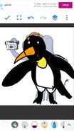 Mama Mirabelle as Emperor Penguin