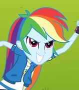 Rainbow Dash in My Little Pony- Equestria Girls Better Together