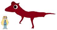 Star meets Lambeosaurus