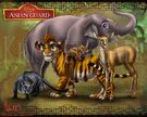 The Lion Guard as Asian Animals