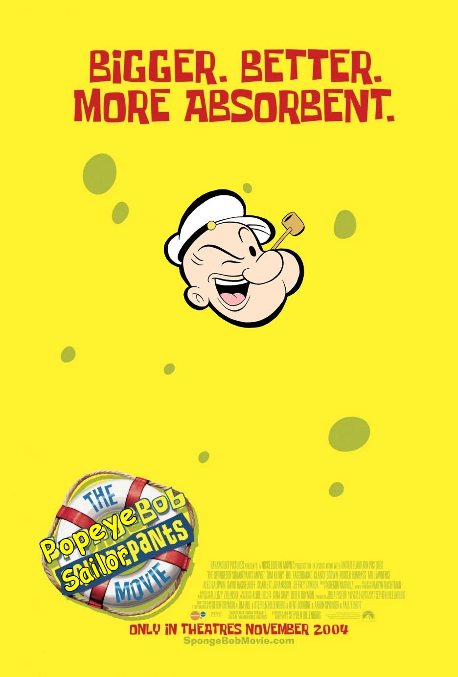 The PopeyeBob SailorPants Movie (Daniel Pineda's Style)