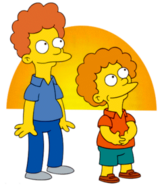 The Simpsons Rod & Todd Flanders