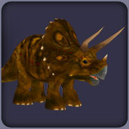 Triceratops (Blue Fang)