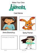 Amphibia (Speechtherapy) Style