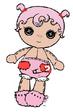 Baby Queenie Red Heart
