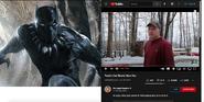 Black Panther vs Psycho Dad
